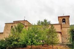 La iglesia desde la glorieta